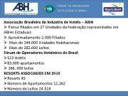 FÓRUM DE OPERADORES HOTELEIROS DO BRASIL Associação Brasileira