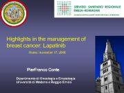 AZIENDA OSPEDALIERO-UNIVERSITARIA DI MODENA Highlights in the management