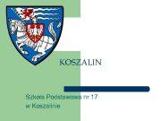 KOSZALIN Szkoła Podstawowa nr 17 w Koszalinie