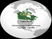Canada Capital Ottawa Official languages English and French