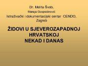 Dr Melita Švob Mateja Gospodinović Istraživački i dokumentacijski