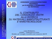 Le nanotecnologie nel 7 Programma Quadro dell Unione Europea