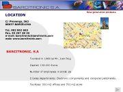 New generation products LOCATION C Provença 362 08037