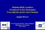 Malattia HER-2 positiva Terapia per la fase metastatica