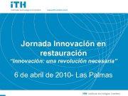 Soluciones Sencillas a Cuestiones importantes Jornada Innovación en