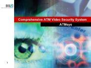 Penkiu kontinentu bankines technologijos UAB Comprehensive ATM Video