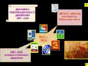 1907 -1910 затишье стачечного  движения 1911 –