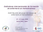 ACADEMIA Estándares internacionales de formación de enfermería en