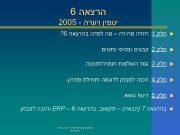 הרצאה 6 יסמין ויערה — 5002 n
