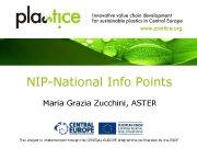 www plastice org NIP-National Info Points Maria Grazia