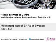 Foto Fröken Fokus Health Informatics Centre a collaboration
