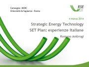 Convegno AIDIC Università la Sapienza — Roma 4