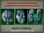 Презентация 1 Лечение АГ