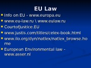 EU Law  Info on EU — www.