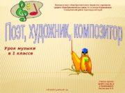 Учитель музыки МОБУСОШ № 18 х. Родниковского Веснинцева