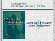 MARKETING STRATEGY O C FERRELL MICHAEL D