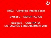 AN 22 Comercio Internacional Unidad 3