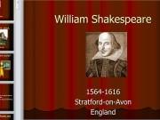 Презентация Шекспир