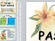 Презентация Глагол to be в Past Simple