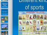Презентация Различные виды спорта