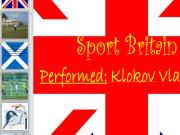 Презентация Спорт в Великобритании
