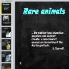 Презентация Редкие животные