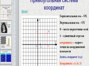 Презентация Система координат