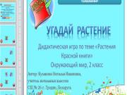 Презентация Растения Красной книги