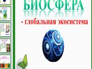 Презентация Биосфера — живая оболочка Земли