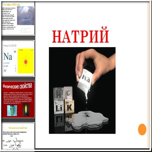 Презентация Натрий