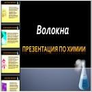 Презентация Волокна
