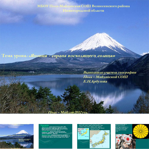 Презентация Страна Япония