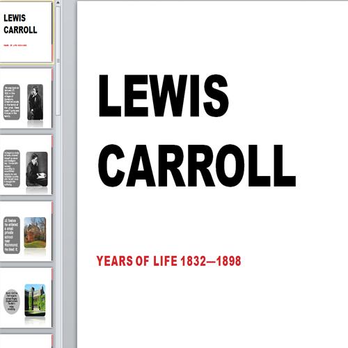 Презентация Lewis Carroll