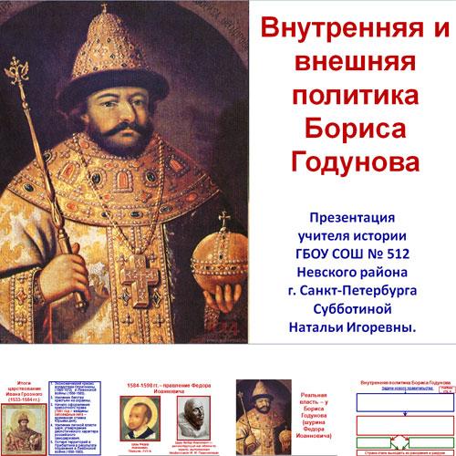 Презентация Борис Годунов