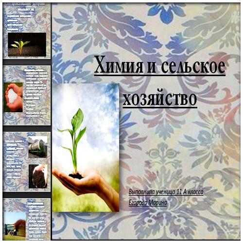 Презентация Химия и сельское хозяйство