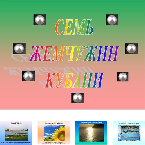 Презентация Кубань