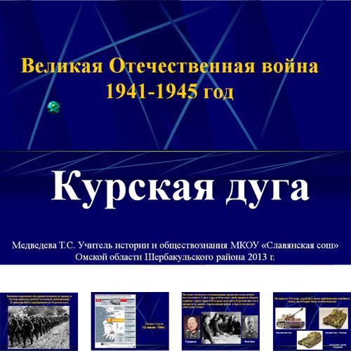 Презентация Курская дуга