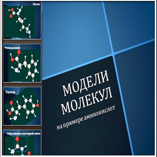Презентация Модели молекул