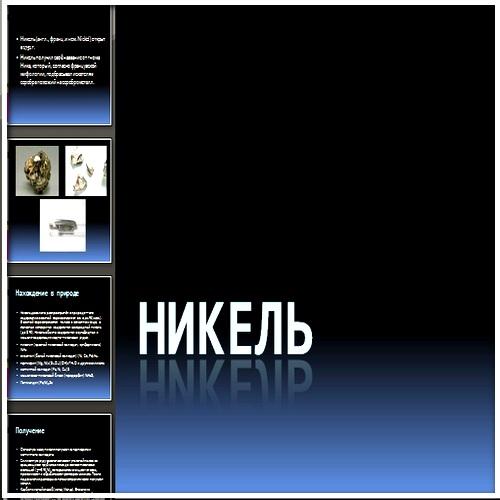 Презентация Никель