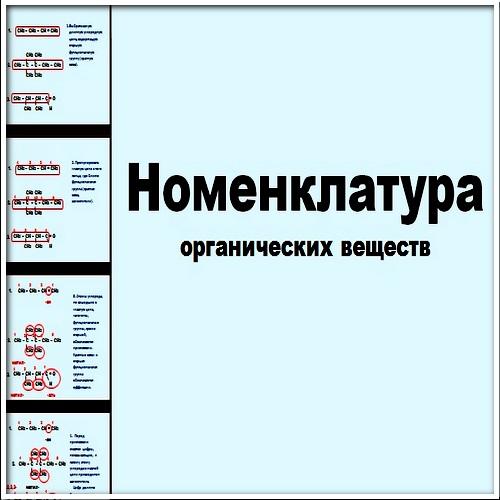Презентация Номенклатура