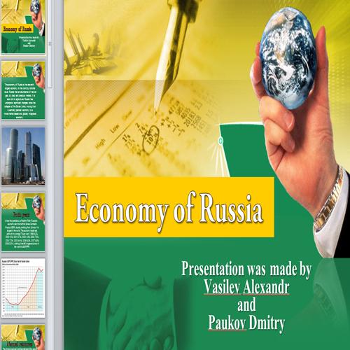 Презентация Economy of Russia