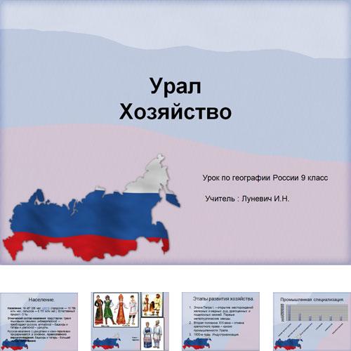 Презентация Хозяйство Урала