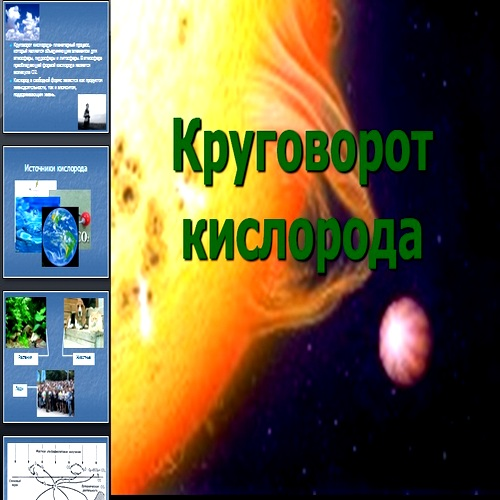Презентация Круговорот кислорода