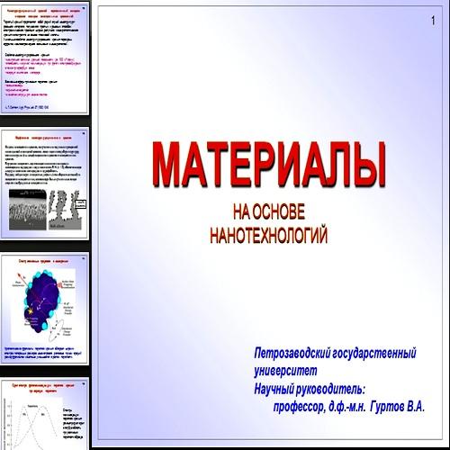 Презентация Материалы