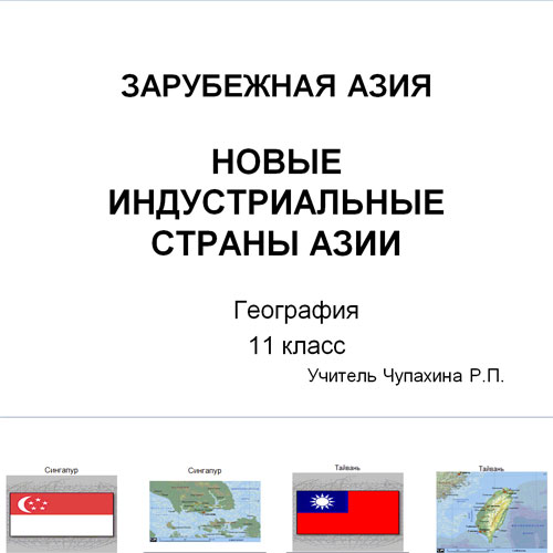 Презентация Страны Азии