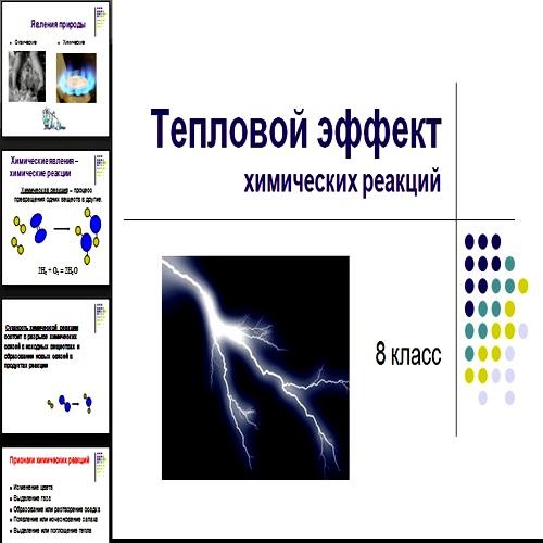 Презентация Тепловой эффект
