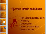 Презентация Спорт в Великобритании и России