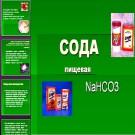 Презентация Сода