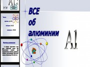 Презентация Все об алюминии