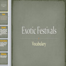 Презентация Экзотические фестивали